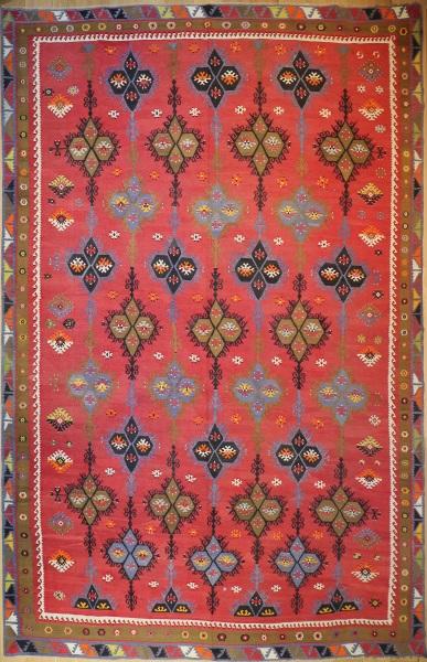 R9129 Antique Large Turkish Kilim Rugs