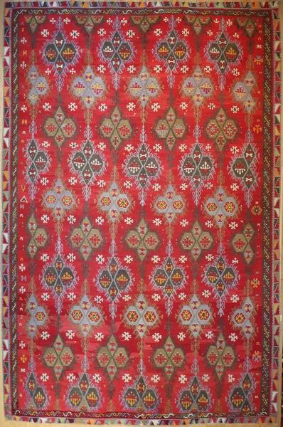 R8165 Antique Large Turkish Kilim Rugs