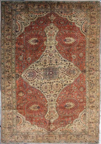 R3914 Antique Oriental Carpet