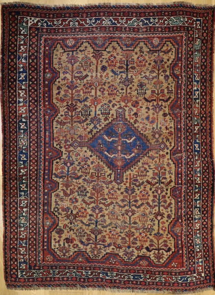 R5997 Antique Persian Afshar Rug