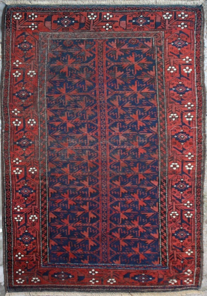 R1838 Antique Persian Baluch Rugs