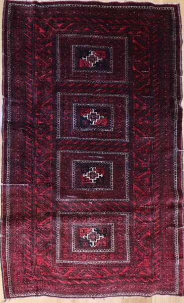 R8123 Antique Persian Belouch Rug