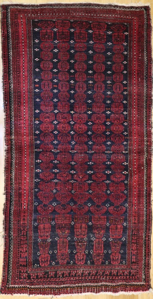 Antique Persian Belouch Rug R9043
