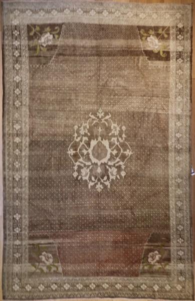 R4477 Antique Persian Bidjar Carpet