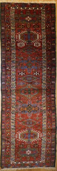 R9315 Antique Persian Heriz Carpet Runner