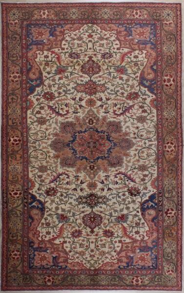 R7464 Antique Persian Isfahan Carpet