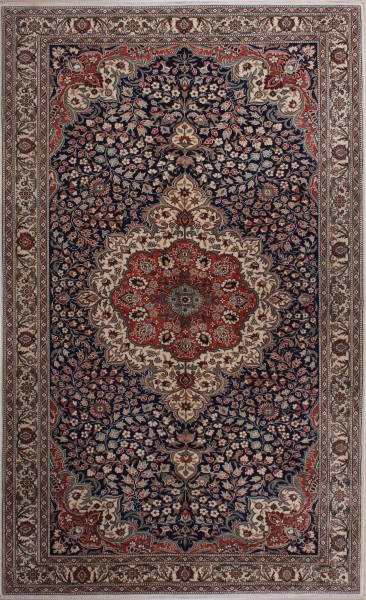 R7338 Antique Persian Isfahan Rug