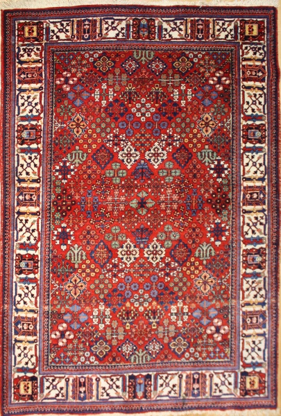 R8680 Antique Persian Joshagan carpet