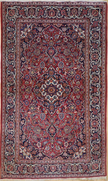 R8471 Antique Persian Kashan Rugs