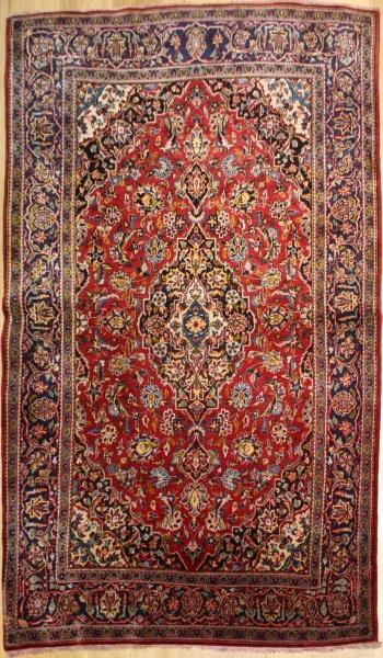 R8620 Antique Persian Kashan Rugs