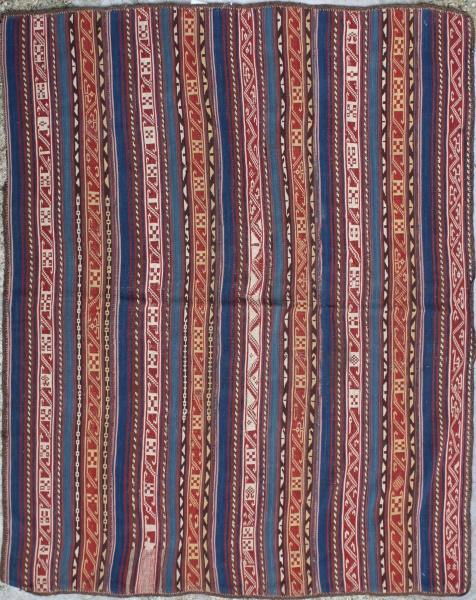 R5396 Antique Persian Kilim