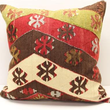 XL446 Antique Persian Kilim Cushion Cover