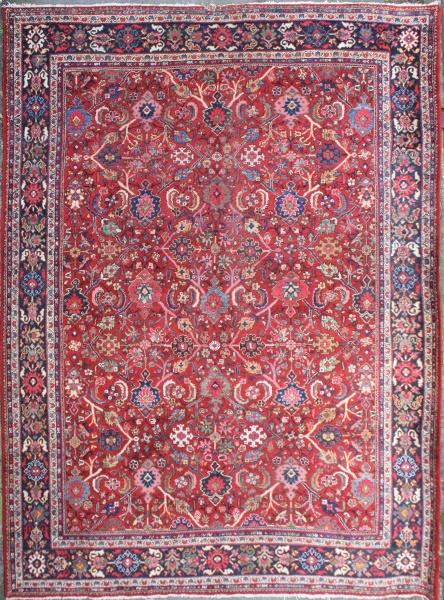 R7407 Antique Persian Mahal Carpet