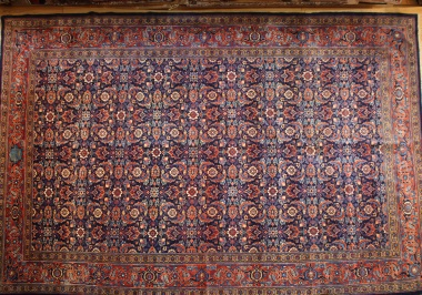 Antique Persian Mahal Carpet R7695