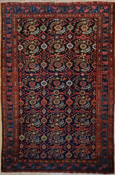 R1418 Antique Persian Malayer Rug