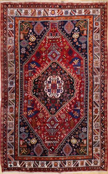 Antique Persian Qashqai Rug R9377
