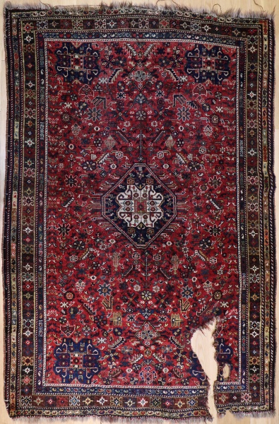 R2845 Antique Persian Qasqai Rug