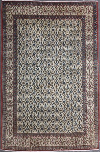 R7534 Antique Persian Qum Rug