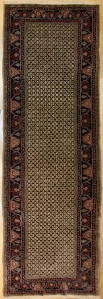 Antique Persian Serapi Carpet Runner R7799