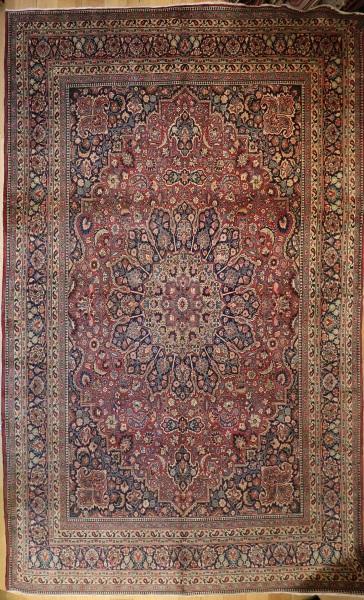 R4980 Antique Persian Tabriz Carpet