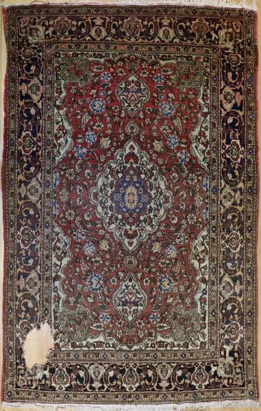 R6899 Antique Persian Tabriz Rug