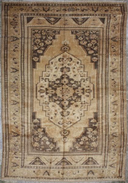 R4918 Antique Vintage Turkish Rug