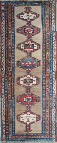 R2441 Antique rug runners