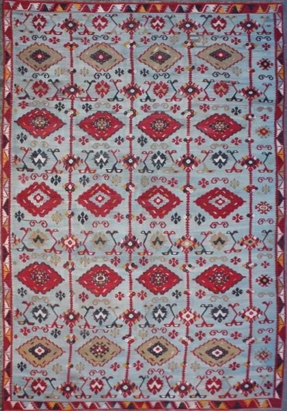R6363 Antique Sarkisla Kilim