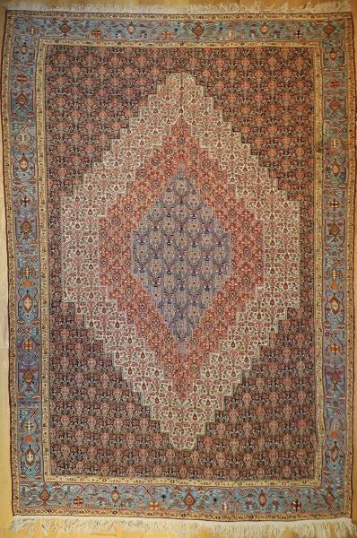 R5392 Antique Senneh Persian Kilim Rug