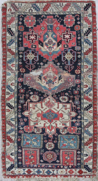 R5165 Antique Shirvan Rug