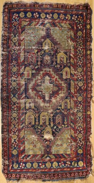 R5173 Antique Shirvan Rug