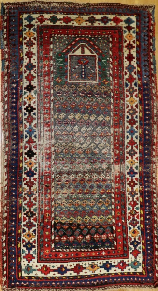 R4571 Antique Shirvan Rugs