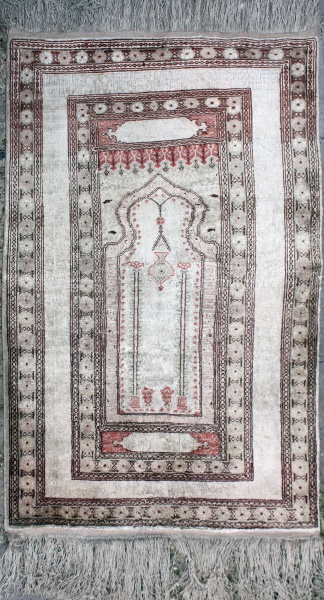 R5363 Antique Silk Rug