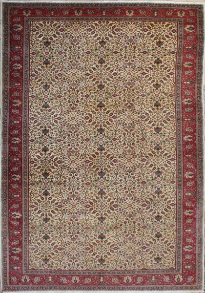 R4119 Antique Turkish  Kayseri Carpet
