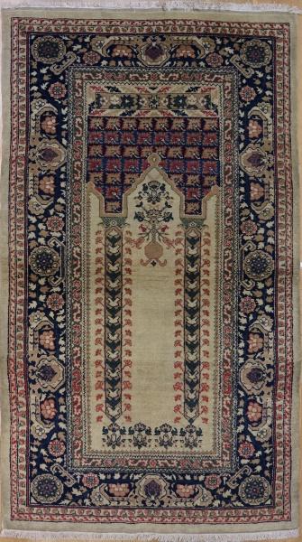 R969 Antique Turkish Bandirma Rug