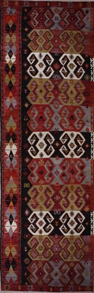 R5406 Antique Turkish Emirdag Kilim Rug