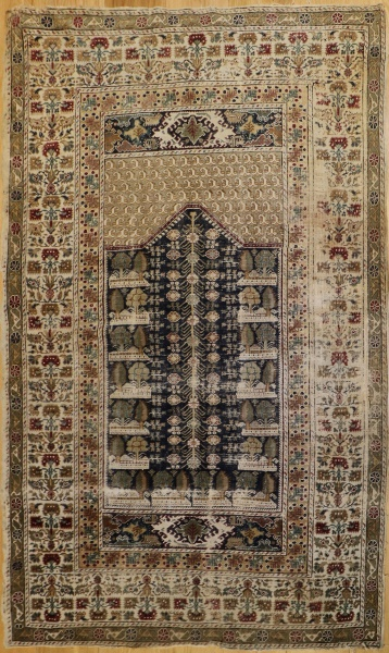 R8614 Antique Turkish Gordes Rug