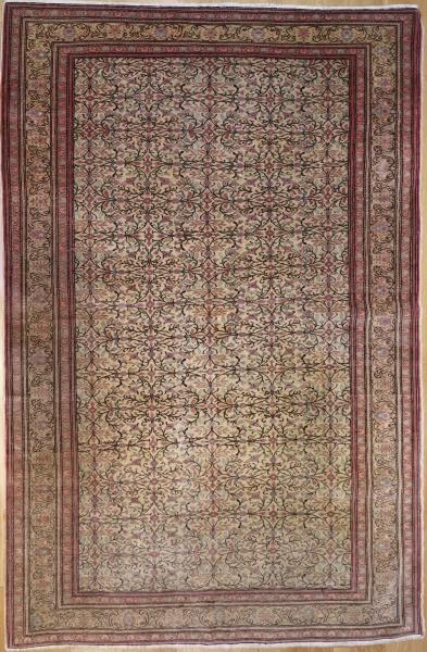 R9393 Antique Turkish Kayseri Carpet