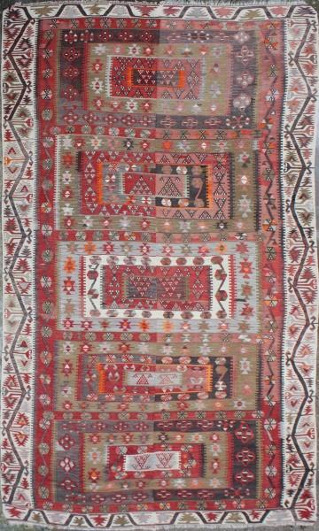 R4984 Antique Turkish Kilim