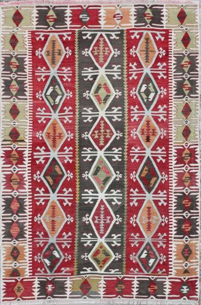 R5474 Antique Turkish Kilim