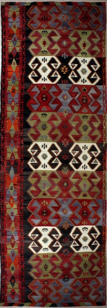 R6627 Antique Turkish Kilim