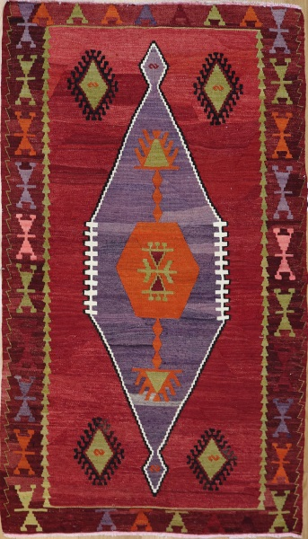 R7182 Antique Turkish Kilim