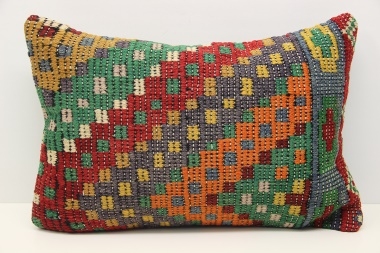 D41 Antique Turkish Kilim Cushion Cover