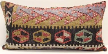 D100 Antique Turkish Kilim Cushion Cover