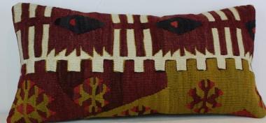 D108 Antique Turkish Kilim Cushion Cover