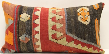 D109 Antique Turkish Kilim Cushion Cover
