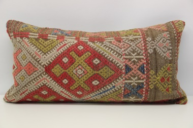 D111 Antique Turkish Kilim Cushion Cover