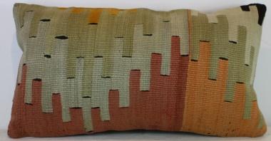 D113 Antique Turkish Kilim Cushion Cover