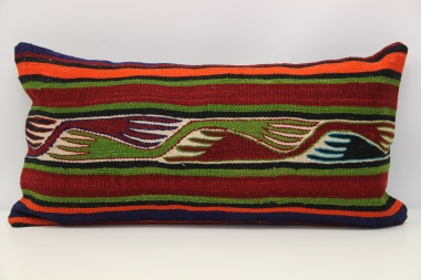 D117 Antique Turkish Kilim Cushion Cover