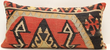 D118 Antique Turkish Kilim Cushion Cover